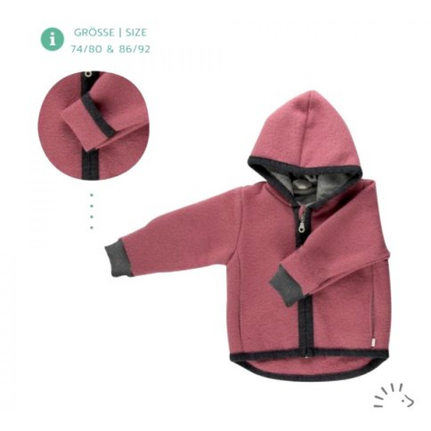 Popolini Walkjacke rose iobio
