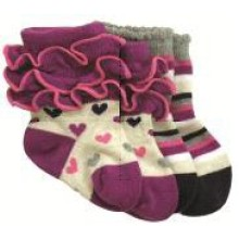 BabySocks Heartfelt pink 2-er Pack