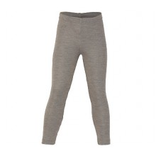 Engel Kinder Leggings walnuss Wolle / Seide
