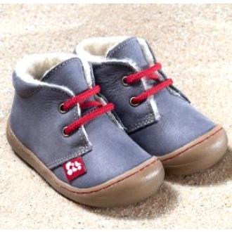 Kinder Schuhe Juan pflanzlich gegerbt pepper von Pololo, Gr.20